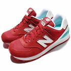 New Balance WL574CNC B Suede Red White Women Running Shoes Sneakers WL574CNCB