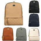 Women PU Leather Backpack Rucksack Satchal Travel Campus School Handbag 1550