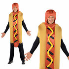 Adults Hot Diggety Dog Costume Unisex Sausage Food Outfit Novelty Fancy Dress