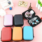 1Pc Creative Colorful Square Case Bag Holder Storage Box for In-ear Headphones