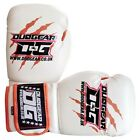 KIDS WHITE 'THAI-GER' SPARRING PADWORK FOR THAIBOXING KICKBOXING GLOVES