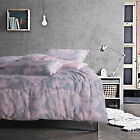 100% Combed Cotton Duvet Cover Set Queen King Made In Canada  #1605