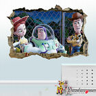 Full Colour 3D Toy Story Smashed Wall Art Sticker Decal Mural Transfer