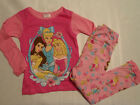 DISNEY Princess Girls Size 3T Pajama Set NWT Sleepwear