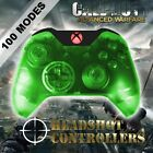 Xbox One/S Clear Green With Red LED Rapid Fire Paddle Controller BF1-IW-GOW4