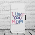 Mother's Day Mom Mum Design WALLET Phone Case Cover iPhone / Samsung All models