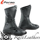 FORMA GALAXY BLACK LEATHER WATERPROOF MOTORCYCLE MOTORBIKE TOURING BOOTS