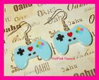 XBOX PLAYSTATION MINECRAFT Video Gamer Remote Control Retro Earrings USA MADE