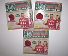 NEW NIB Ugly Christmas Sweater Kit Red XS S XL Make Your Own