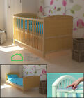 Baby cot 2in1 JUNIOR BED CONVERTS INTO JUNIOR Crib +Rails Protector+ mattresses