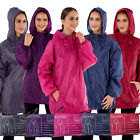 ProClimate Womens Water Resistant Jacket In A Bag New Ladies Hooded Pac A Mac