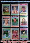 ☆ Topps 1976 Football Blue/Grey Cards 109 to 162    (VG) *Please Select Cards*