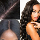 Wavy Brazilian Hair Front Lace Wigs W/ Baby Hair Human Hair African American FK