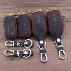 New Leather Key Cover For Toyota Camry Crown Reiz Corolla RAV4 Highlander Prado