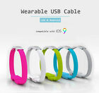 Fashion Bracelet Data Sync Charging USB Cable Micro USB Samsung Lightning iPhone