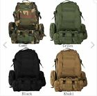 Military Tactical Outdoor Backpack Rucksack Bag Camping Hiking Trekking MOLLE