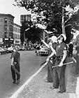 1964 Harlem Race Riots Police with Drawn Guns Historical Photo Vintage