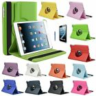 360 Rotating Folio Magnetic Leather Smart Cover Stand Case For iPad Mini 1 2 3