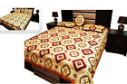 bedspread and comforter sets - NEW 4 Piece Jacquard Quilted Bedspread Comforter Bed Set - Double