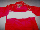 RCI RACE JACKET Multi Layer RED White SFI 3-2A/5 Racing Driving ADULT Small NEW