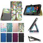 "NuVision 2016 TM800W560L / 2017 TM800P610L 8"" Tablet Case PU Leather Folio Cover"