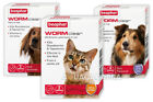 BEAPHAR WORMCLEAR CAT DOG WORMING TABLETS VET-STRENGTH ROUNDWORM TAPEWORM
