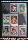 ☆ Topps 1976 Football Blue/Grey Cards 1 to 54 (F) *Please Select Cards*