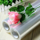 5 mtr PLAIN/CLEAR Transparent Clear Cellophane Roll Hamper Flower Gift Wrap Film