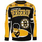 NHL Men's Boston Bruins Patrice Bergeron #37 Player Ugly Sweater $34.95 USD on eBay
