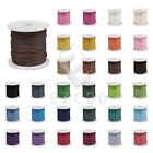 1 Roll 80M Waxed Cotton Cord Macrame Thread Rope Wire Fit Necklace Bracelet