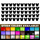 50 Mickey Mouse stickers Nursery Decal for DIY kids play roo