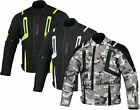 MBSmoto MJ20 FAST SPORTS MOTORCYCLE BIKE SCOOTER RIDER WATERPROOF TEXTILE JACKET