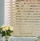 "2"" DELUXE BASSWOOD (REAL WOOD) BLINDS 93"" WIDE x 37"" to 48"" LENGTHS"