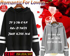2017 Lovers T-SHIRT Womens Mens Long Sleeve Pullovers Hoodie Sweatshirt Shirt