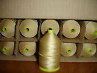 STRONG BONDED NYLON THREAD - 40S - TEX 70 - COP - SPOOL - ROT PROOF - 650M VENUS