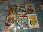 Silver & Bronze age Marvel Superhero comic books 6 lot