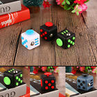 Fidget Cube A Vinyl Children Desk Toy Adults Stress Relief Cube W/ Rope Gift UK