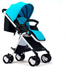 High Landscape Baby Stroller Portable Fold Umbrella Car Baby Trolley Pushchair