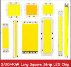 5W 6W 10W 15W 20W 40W 50W COB Warm White/White Square Strip LED Light For Car