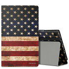 Amazon Kindle Fire HD 8 2016 6th cases Cover MoKo Slim Folding Stand US Flag