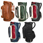 Miniature Vintage Golf Wash Bag Mens Womens Cosmetic Toiletries Travel Accessory