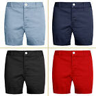 Mens Chino Shorts Cotton Summer Stallion Casual Half Pant New