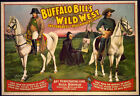 Photo Print Vintage Poster: Buffalo Bill Wild West Act 07