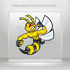 Decals Sticker Bee, Hornet, Wasp, Vespa Fighter Vehicle st5 XWWW7
