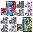Rubberized Design Slim Dual layer Hybrid Cover Case For Samsung Galaxy On5 G550