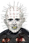 Smiffy's Adults Official Hellraiser Pinhead Mask Halloween Costume Accessory