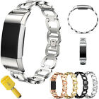 NEW !Luxury Stainless Steel Wrist Bands Metal Strap Bracelet For Fitbit Charge 2