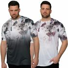 Juice King Plus Size Mens Short Sleeve T-Shirt Crew Neck Top Printed Tee 2XL-5XL