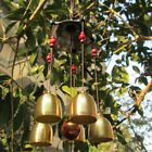 Large Copper Antirust Campanula Wind Chimes Home Decoration Decoration JR