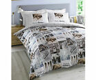 #Bedding Happy Dreamer Labrador Dog Novelty Reversible Quilt Duvet Cover Set